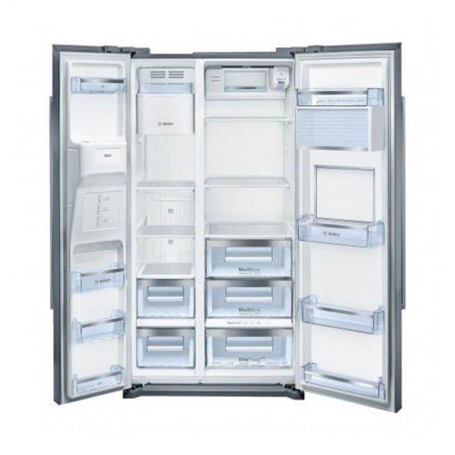 نمای داخلی یخچال و فریزر ساید بای سایدمدل KAG90AI204 510x510 1