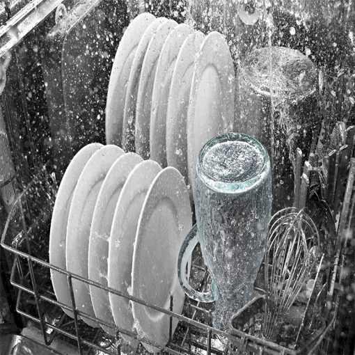 ماشین ظرفشویی بوش مدل SMS50D08GC در حال شستشو 510x510 1