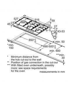 ابعاد اجاق گاز توکار بوش PRS9A6D70 247x296 1