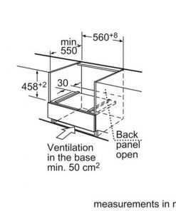ابعاد محل قرارگیری مایکروویو توکار بوش مدل HBC86K753 247x296 1