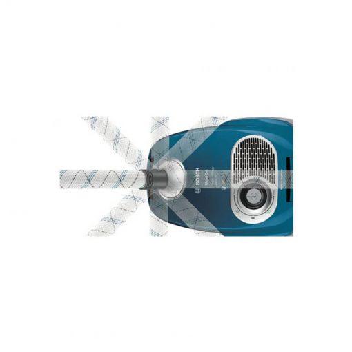 چرخش ۳۶۰ درجه ی شلنگ جاروبرقی بوش مدل BGL35MOV27 510x510 1