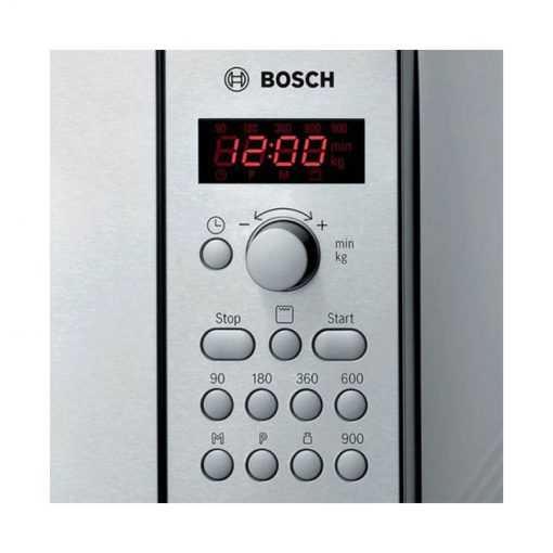 نمای دکمه و تنظیمات مایکروویو بوش مدل HMT84G451 510x510 1